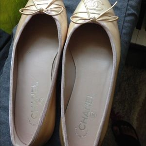 Chanel flats. Authentic
